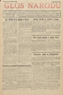 Głos Narodu. 1931, nr5