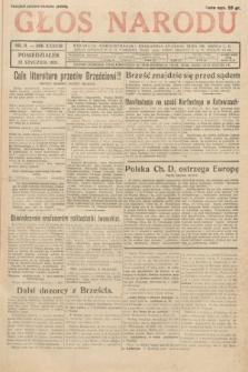 Głos Narodu. 1931, nr11