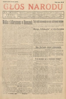 Głos Narodu. 1931, nr13