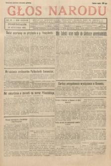 Głos Narodu. 1931, nr18