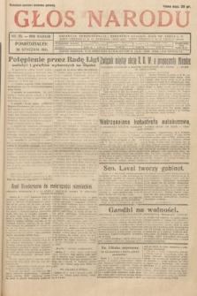 Głos Narodu. 1931, nr25
