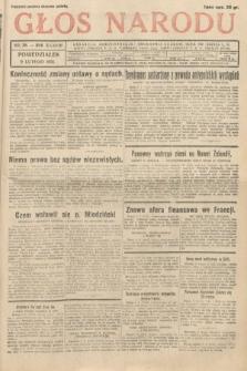 Głos Narodu. 1931, nr38