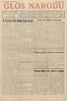 Głos Narodu. 1931, nr42