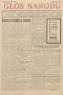 Głos Narodu. 1931, nr43