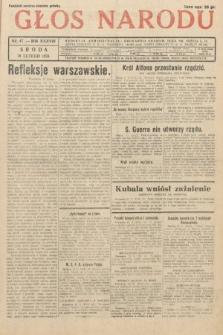 Głos Narodu. 1931, nr47