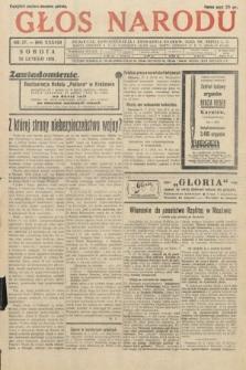 Głos Narodu. 1931, nr57