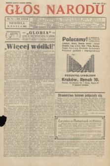 Głos Narodu. 1931, nr72