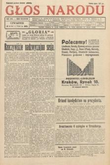 Głos Narodu. 1931, nr108