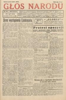 Głos Narodu. 1931, nr109