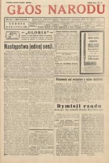 Głos Narodu. 1931, nr110