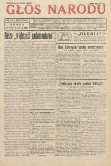 Głos Narodu. 1931, nr114