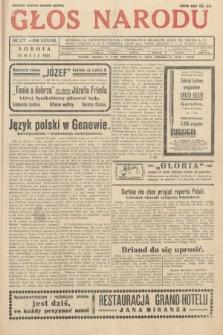 Głos Narodu. 1931, nr137