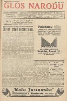 Głos Narodu. 1931, nr148