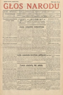 Głos Narodu. 1931, nr158