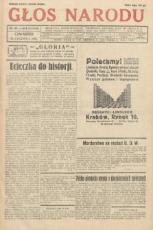 Głos Narodu. 1931, nr161