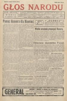 Głos Narodu. 1931, nr166