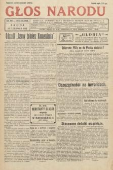 Głos Narodu. 1931, nr167