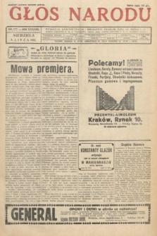 Głos Narodu. 1931, nr177