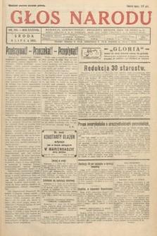 Głos Narodu. 1931, nr180