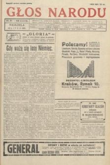 Głos Narodu. 1931, nr191
