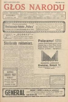 Głos Narodu. 1931, nr205