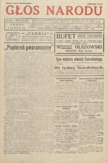 Głos Narodu. 1931, nr208