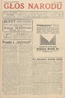 Głos Narodu. 1931, nr216