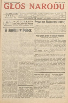 Głos Narodu. 1931, nr221