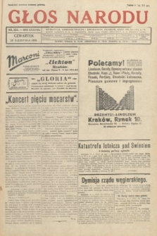 Głos Narodu. 1931, nr222