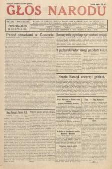 Głos Narodu. 1931, nr226