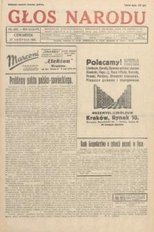Głos Narodu. 1931, nr229