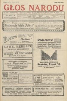 Głos Narodu. 1931, nr232