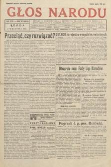 Głos Narodu. 1931, nr235