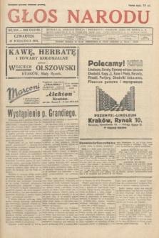 Głos Narodu. 1931, nr243