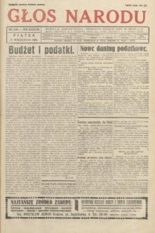 Głos Narodu. 1931, nr244