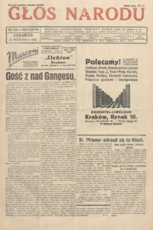Głos Narodu. 1931, nr250