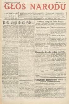 Głos Narodu. 1931, nr258