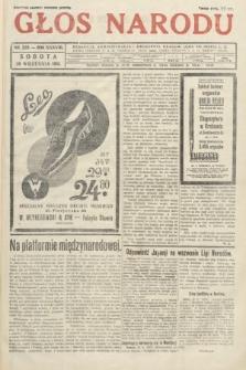 Głos Narodu. 1931, nr259