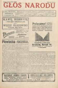 Głos Narodu. 1931, nr260