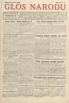 Głos Narodu. 1931, nr261