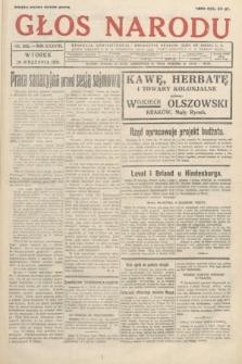 Głos Narodu. 1931, nr262