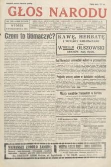 Głos Narodu. 1931, nr269