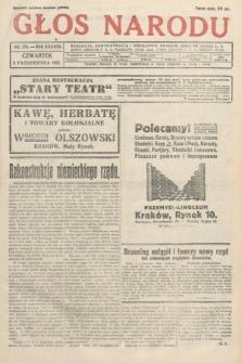 Głos Narodu. 1931, nr271