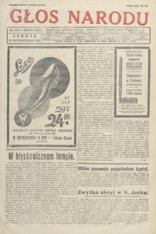 Głos Narodu. 1931, nr273