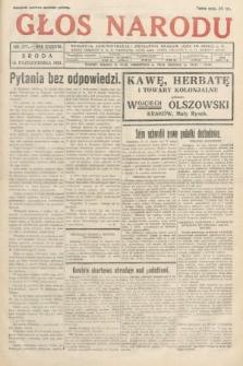 Głos Narodu. 1931, nr277