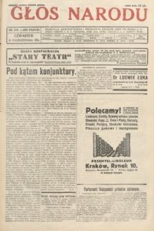 Głos Narodu. 1931, nr278