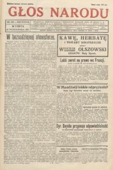 Głos Narodu. 1931, nr283