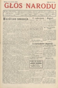 Głos Narodu. 1931, nr284