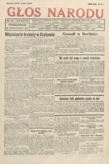 Głos Narodu. 1931, nr289
