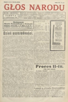 Głos Narodu. 1931, nr294
